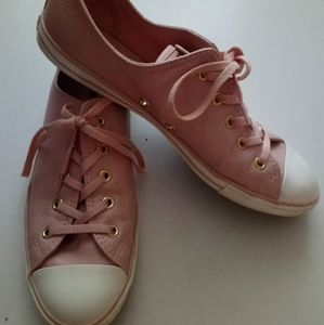 Pink converse All Stars  sneakers Size 40.5